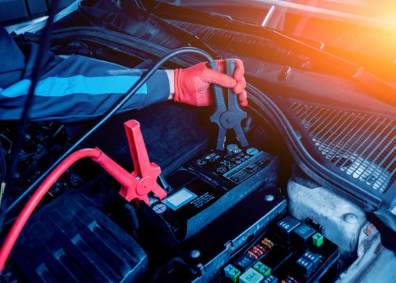 Прикуривание двигателя